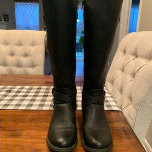 G by Guess Black Boots (Size 8)